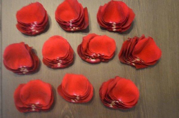 画像1: ローズペダル 400枚(生花) (1)