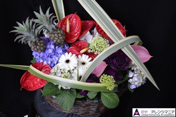 画像1: 定期納品のお花 サンプル 要見積もり (1)